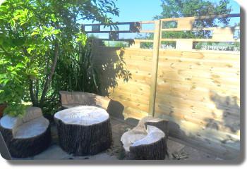 Ihr Gartenzaun Aus Holz Zaunfelder Tor Tur Sichtschutz Staketen