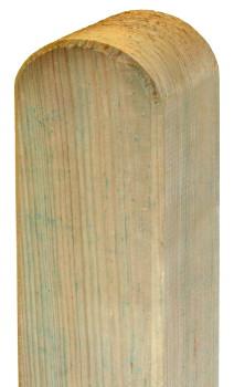 Einschlagbodenh/ülse 9x9x90 cm inkl Befestigungsset