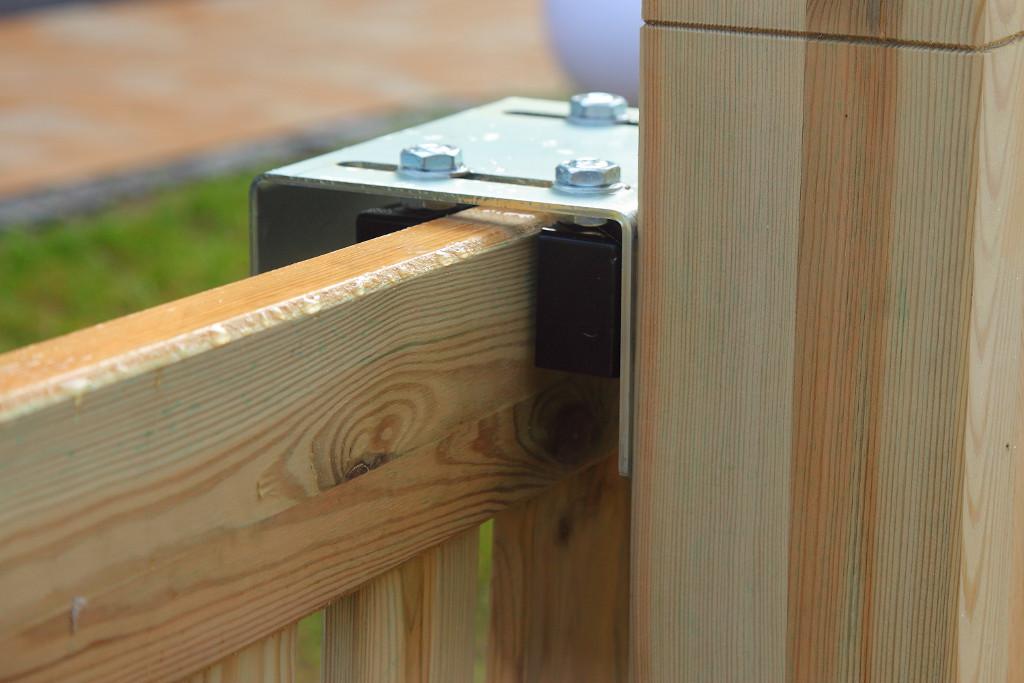 Rahmenschiebetor Oslo Ab 389eur Holz Gartentor Mit Rollen