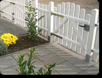 Gartentür Aus Holz In Gerader Oder Gebogener Form