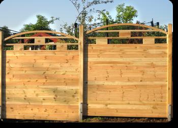 Holzzaune Und Zaunlatten Von 60 Bis 200cm Hohe Als Sichtschutz